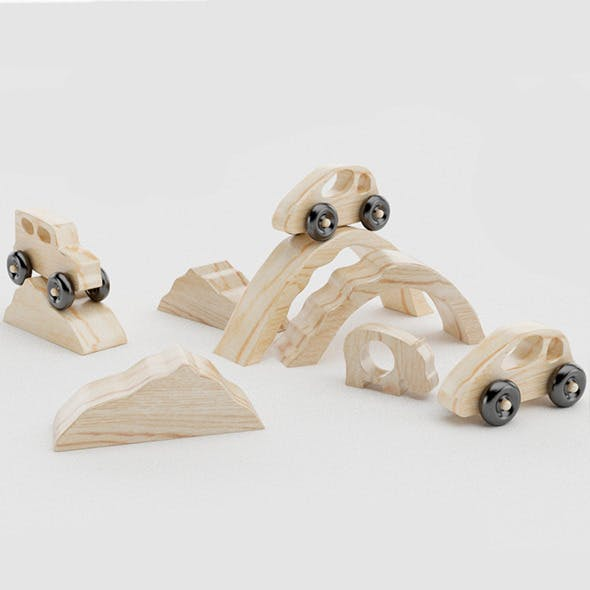 Toys Wood - 3DOcean Item for Sale