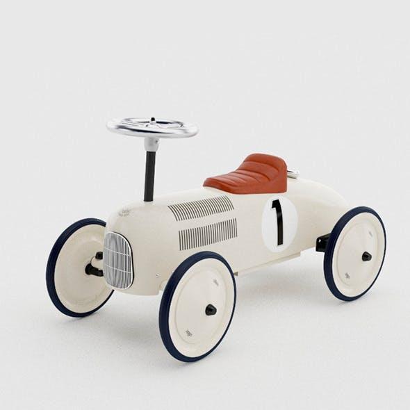 Retro Ride Car  - 3DOcean Item for Sale