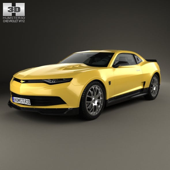 Chevrolet Camaro Bumblebee 2014 - 3DOcean Item for Sale