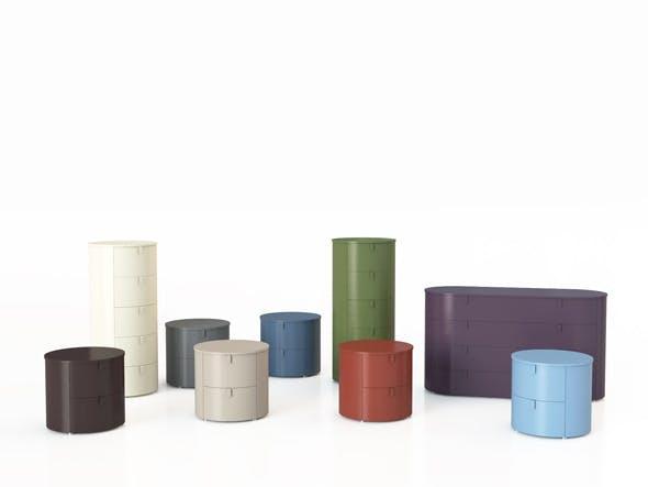 BedsideTable, Dresser and DrawerChest set - 3DOcean Item for Sale