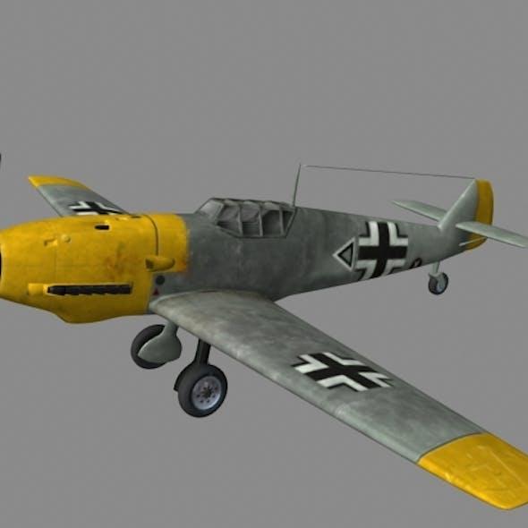 Me109 Plane.OBJ