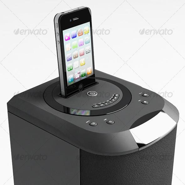 I phone/ I pod Player - 3DOcean Item for Sale