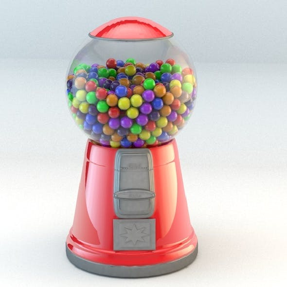 Basic gumball machine
