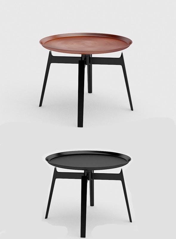 Husk Table by B&B Italia - 3DOcean Item for Sale