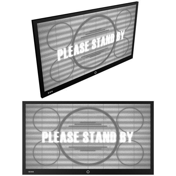 Flat Screen TV - 3DOcean Item for Sale