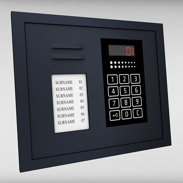 Intercom - 3DOcean Item for Sale
