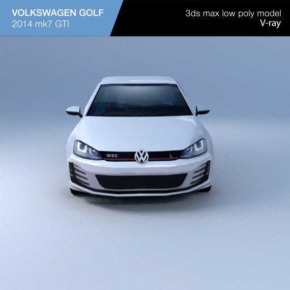 VW GOLF hatchback 2014