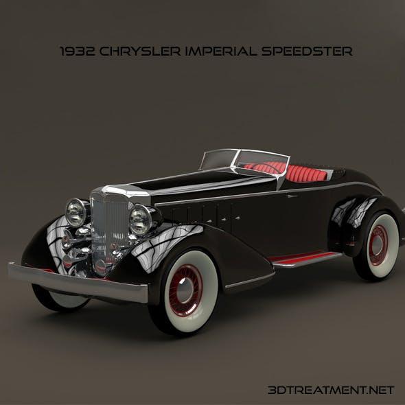 1932 Chrysler Imperial Speedster - 3DOcean Item for Sale