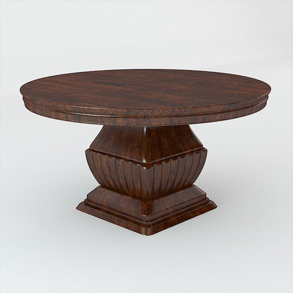 Classic Wooden Table - 3DOcean Item for Sale