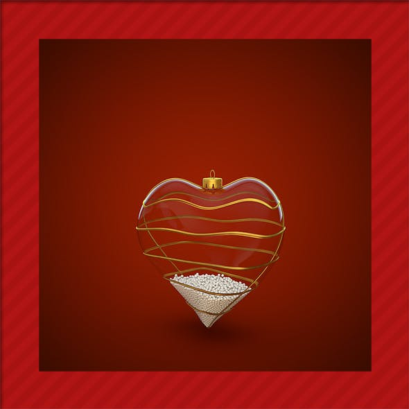 HiRes Christmas Decoration 4 - 3DOcean Item for Sale