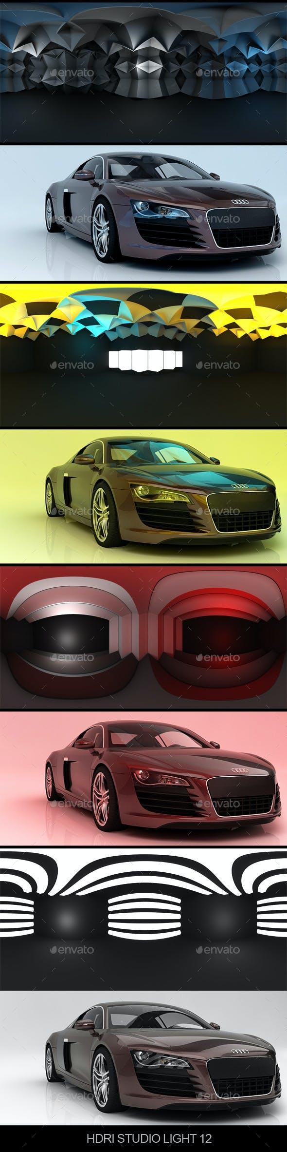Studio light 12 - 3DOcean Item for Sale