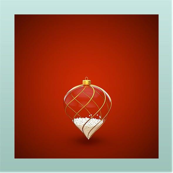 HiRes Christmas Decoration 5 - 3DOcean Item for Sale