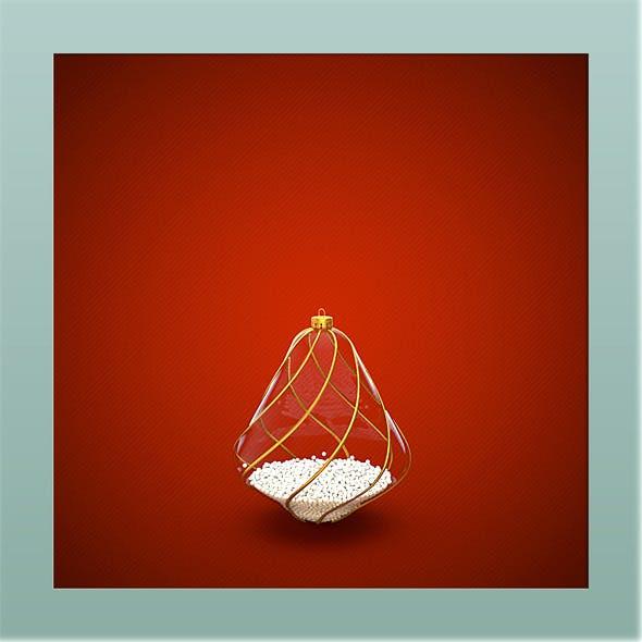 HiRes Christmas Decoration 6 - 3DOcean Item for Sale