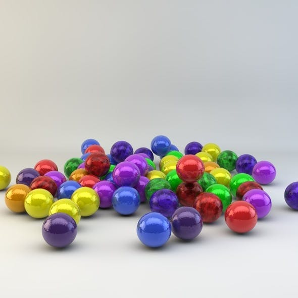 Candy sweet materials (10 pack) for C4D