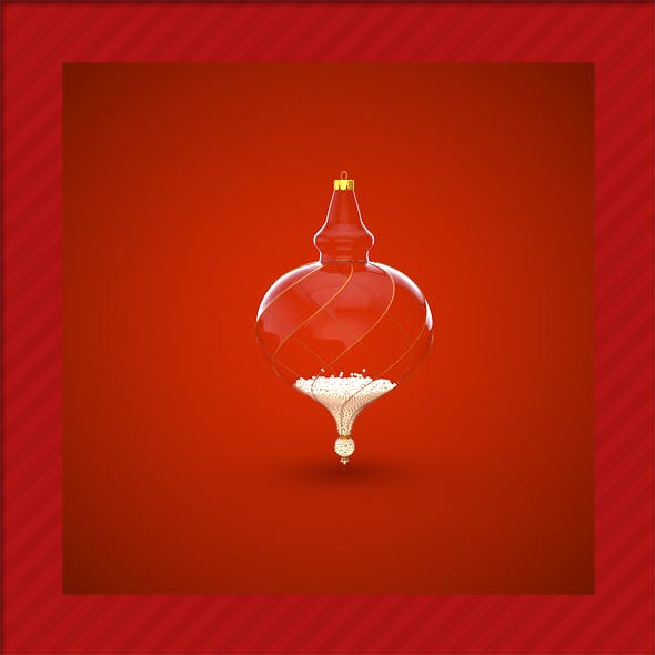 HiRes Christmas Decoration 16 - 3DOcean Item for Sale