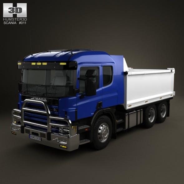 Scania R 420 Tipper Truck 2004 - 3DOcean Item for Sale