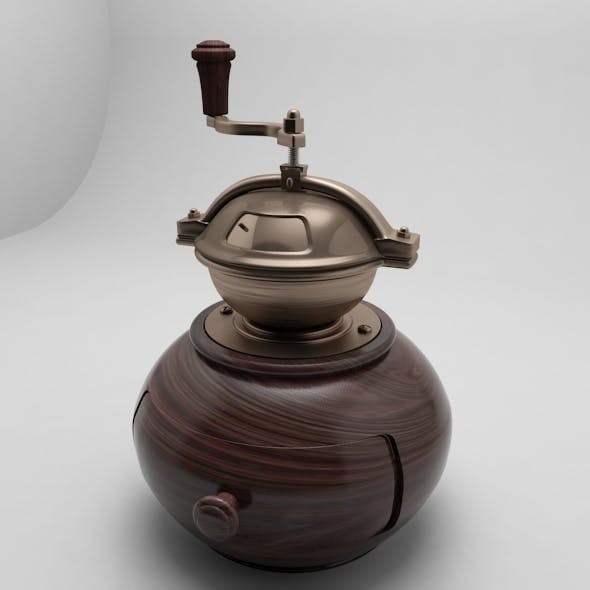 Modern Coffee grinder - 3DOcean Item for Sale