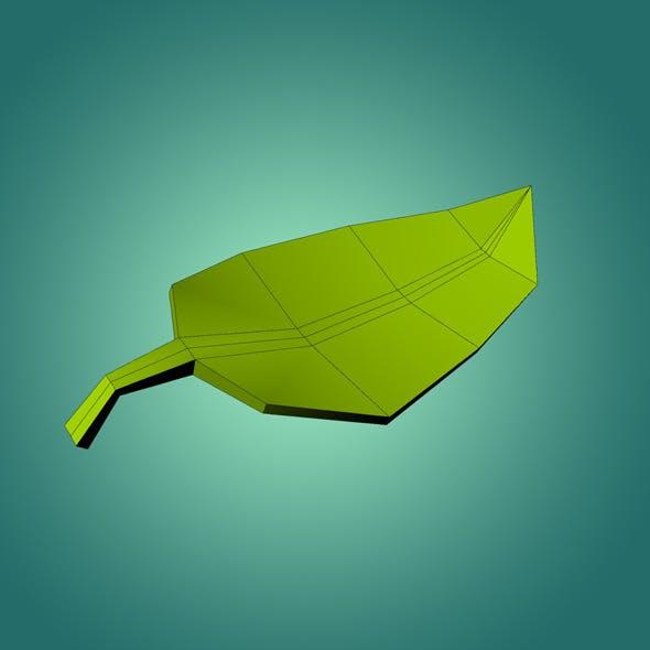 Low Ply Leaf 3D Model