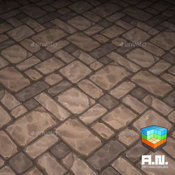 Stone texture floor-01