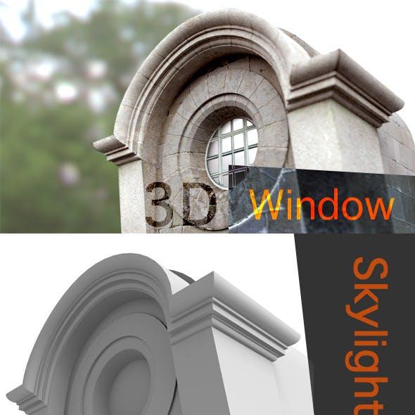 Exterior Roof Retro Window Skylight