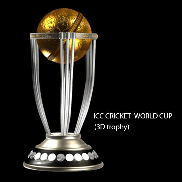 Cricket World Cup trophy - 3DOcean Item for Sale