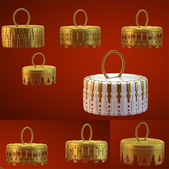 Caps HiRes Christmas Decoration 17 - 3DOcean Item for Sale