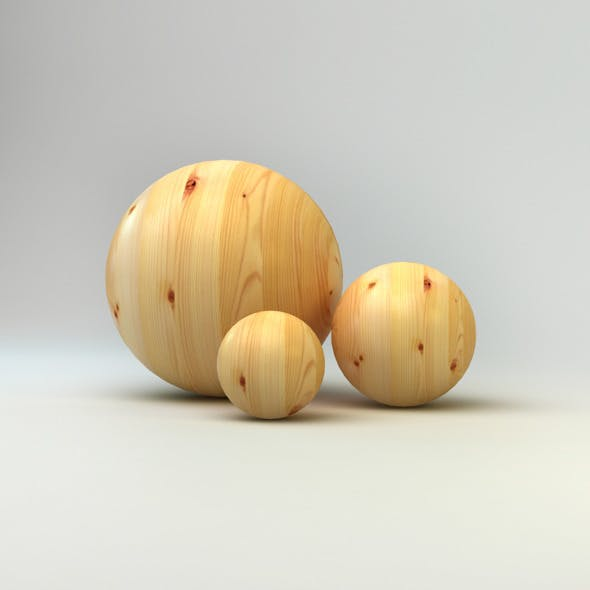 Realistic Wood Material
