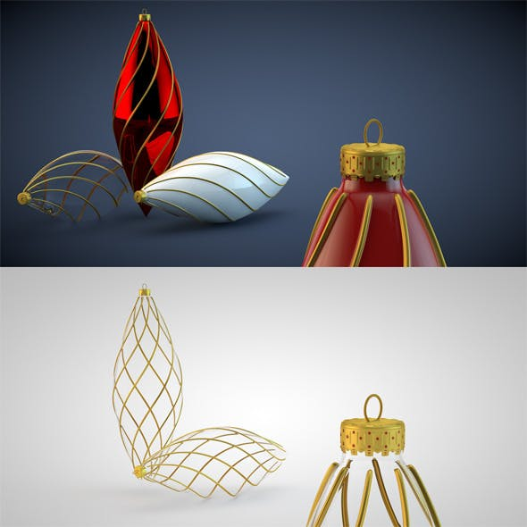 Christmas Decoration HiRes 16 - 3DOcean Item for Sale