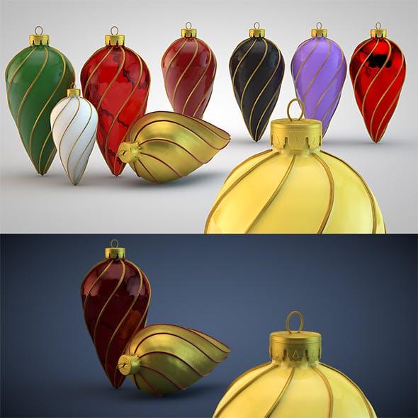 Christmas Decoration Kit 18 - 3DOcean Item for Sale