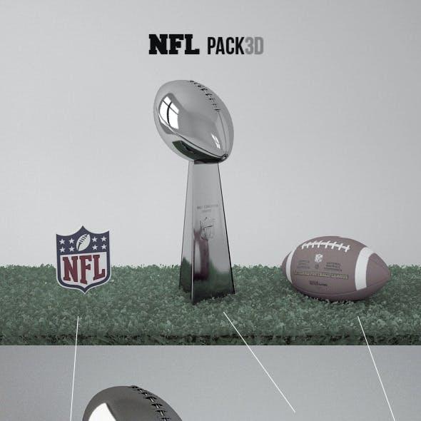 Pack NFL 3D