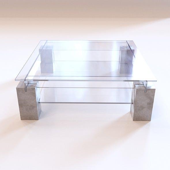 Roche Bobois - Tenere Coffee Table  - 3DOcean Item for Sale