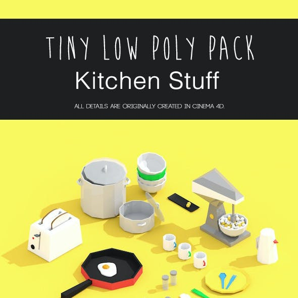Tiny Kitchen Pack