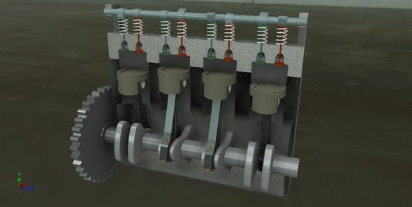 Auto Engine - 3DOcean Item for Sale