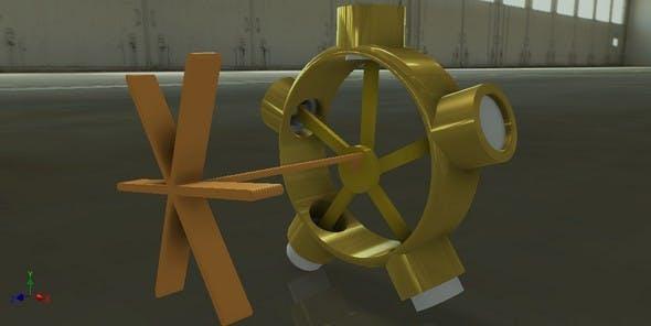 Radial engine - 3DOcean Item for Sale