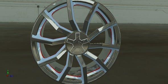 Auto rim - 3DOcean Item for Sale