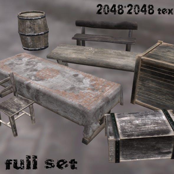 MediEvil_Set - 3DOcean Item for Sale