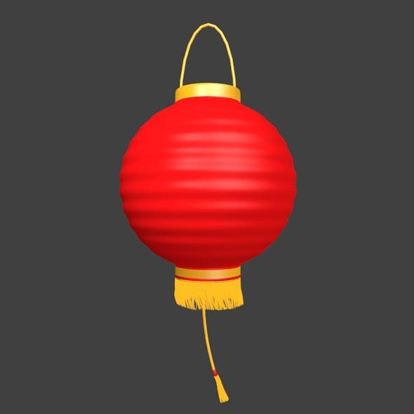 Chinese Lampion - 3DOcean Item for Sale