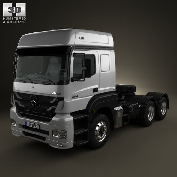 Mercedes-Benz Axor Tractor Truck 2011 - 3DOcean Item for Sale