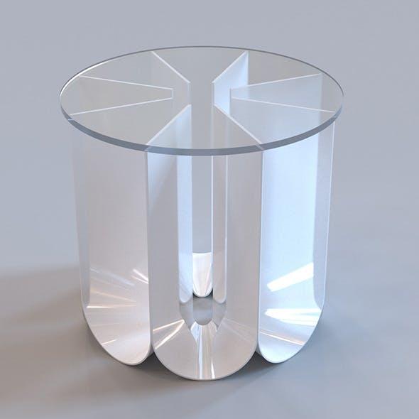 Roche Bobois - Iride end table - 3DOcean Item for Sale