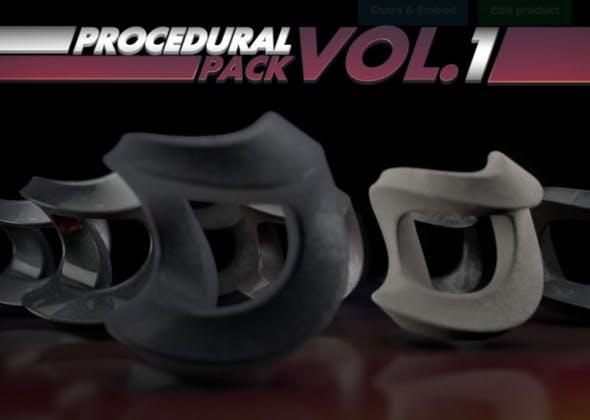 Procedural Pack Vol.1 - 3DOcean Item for Sale