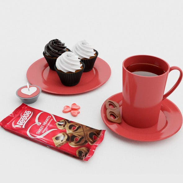 Breakfast Set - 3DOcean Item for Sale