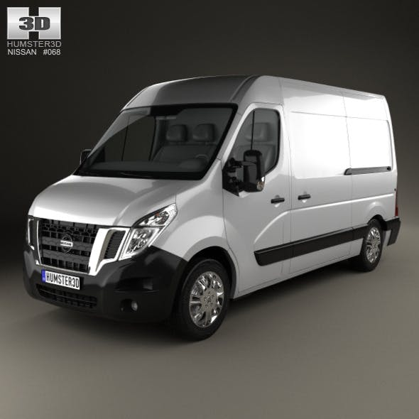 Nissan NV400 Panel Van 2010 - 3DOcean Item for Sale