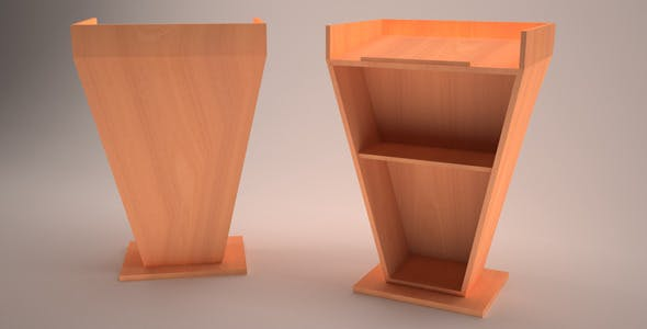 3D Podium Model - 3DOcean Item for Sale