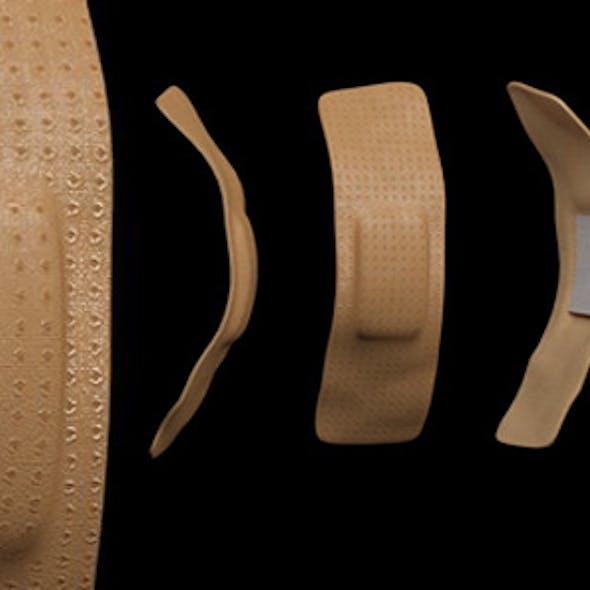 Band Aid 3d Model