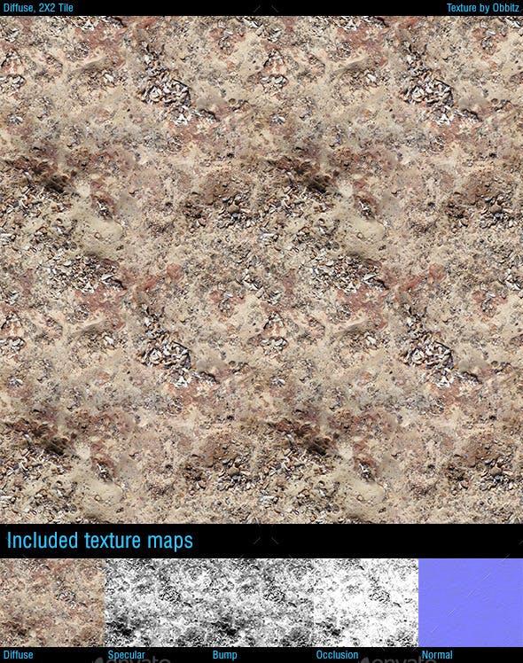 Beach Rock 02 - 3DOcean Item for Sale