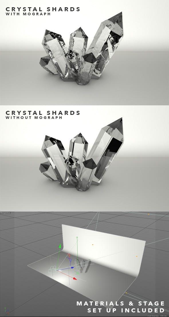 Crystal Shards - 3DOcean Item for Sale