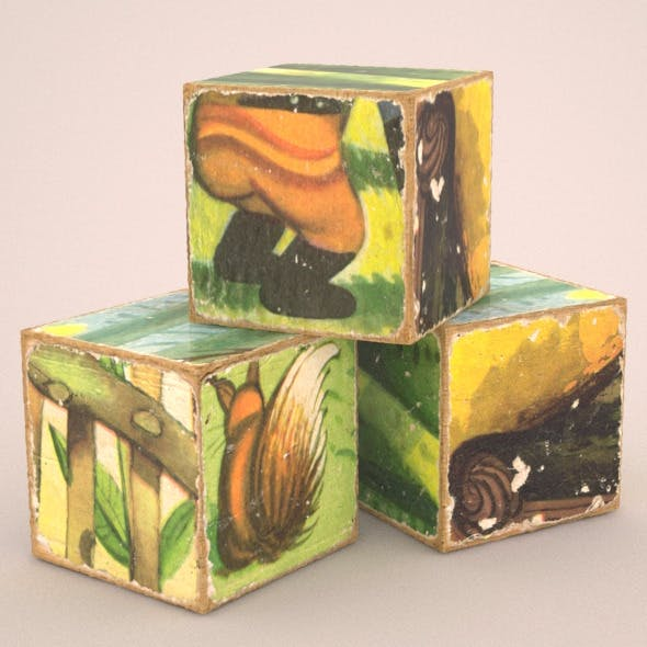 Cubes - 3DOcean Item for Sale