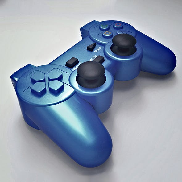 Game Pad Cinema 4d Model