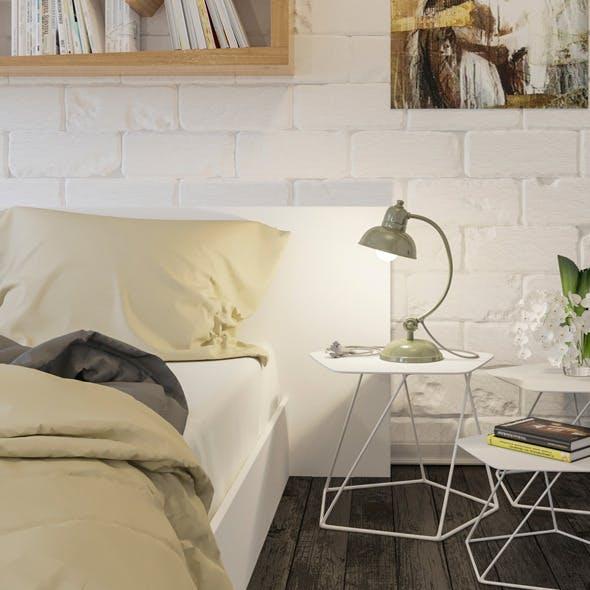 Realistic modern interior design