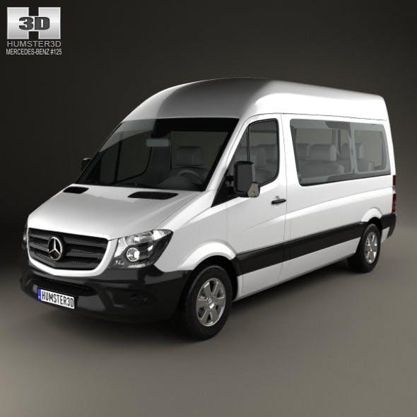 Mercedes-Benz Sprinter Passenger Van 2013 - 3DOcean Item for Sale